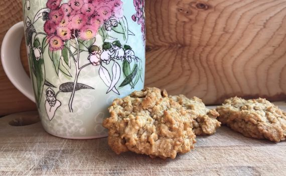 Vegan Anzac Biscuits - The Best Ever - Vegan Tasmania